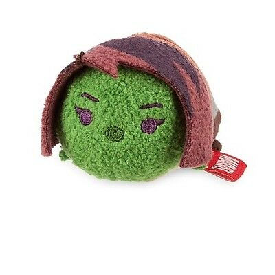 Disney Store Guardians Of The Galaxy Gamora Tsum Tsum Plush 31/2 New With Tag