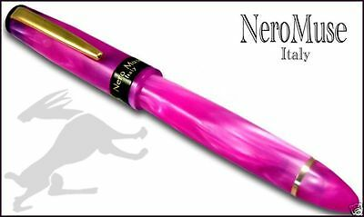 Stylo Pen Shocking PINK Great Fountain pen Waterman Cartridges Nobel Material