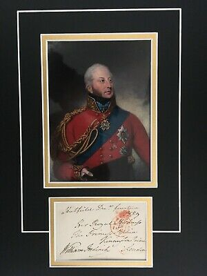William Frederick - Duke Of Gloucester - Royal Family - Signed Colour Display