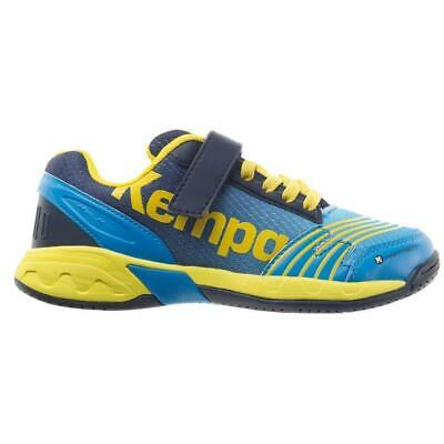 low priced 42271 9fff2 KEMPA ATTACK KINDER Handballschuhe Handball Schuhe Sportschuhe Hallenschuhe  blau