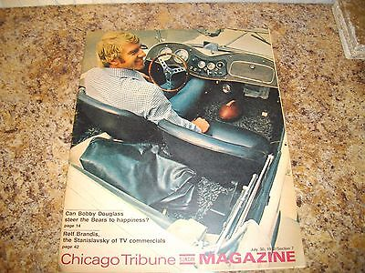 Chicago Tribune Sunday Magazine July 30,1972/Section 7 Bobby Douglas