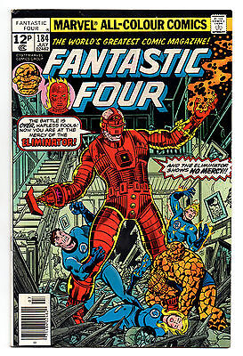 Fantastic Four Vol 1 No 184 Jul 1977 (VFN-) Marvel, Bronze Age (1970 - 1979)