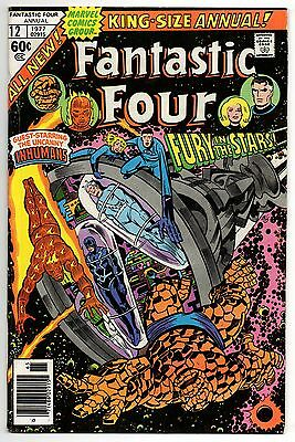 Fantastic Four Vol 1 Annual No 12 1977 (VFN-) Featuring The Inhumans