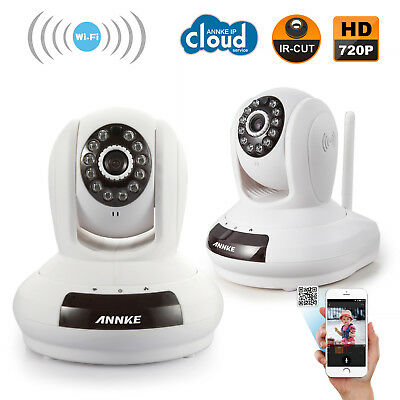 ANNKE 2X WiFi 720P IP Network Wireless Camera Baby Monitor Security Indoor Video