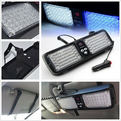 Blue&White 12V LED SMD INTERIOR LIGHT KIT SUV SUN VISOR MAP PUDDLE ROOF Sport