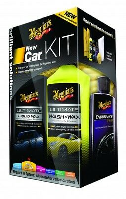 Meguiar´s Brilliant Solutions New Car Care Kit G3200 Autopflege Komplett Set