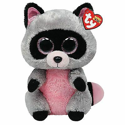 Ty Beanie Boos - Rocco the Raccoon Soft Plush Cuddly Toy New