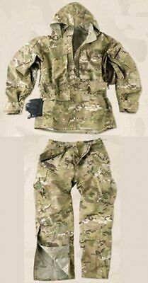 HELIKON TEX US ECWCS CAMOGROM Army Cold Wet Weather Anzug Hose Jacke jacket pant