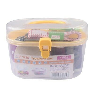 Thorn Rust Sewing Kit Needle and thread hand sewing Box kit Double Layer OK