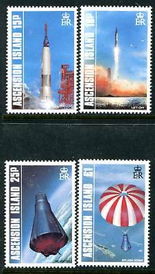 Ascension 420-423, MNH, Space, s6755