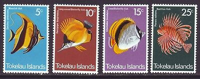 Tokelau Islands 1975 SC 45-48 MH Set Fish