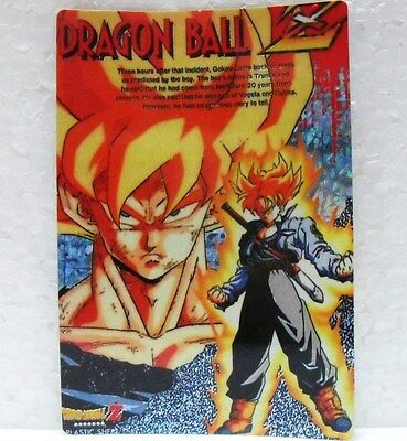 DRAGON BALL Z - STIKERS n° 52 - LASER CARDS