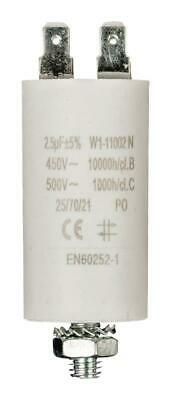 Capacitor 2.5uf / 450 v + earth