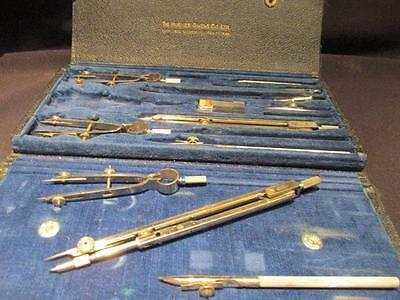 Hughes Owens Co Ltd Beautiful Vintage Complete Drafting Set No 1130N