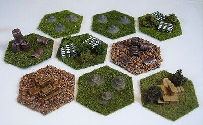 Fortress Accessory set for Battletech 9 Objective Markers