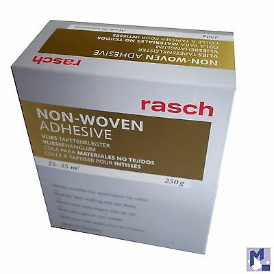 RASCH Fleece Wallpaper Paste Roll - for all Non woven fabric 250 g