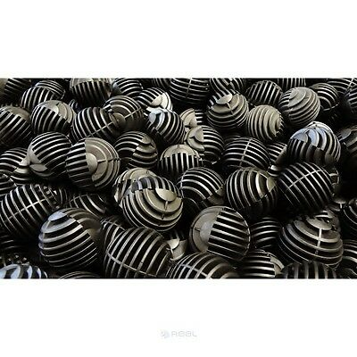 32mm Bio Balls Aquarium Filter Media Tropical Marine Sump Fish Tanks Ponds Water