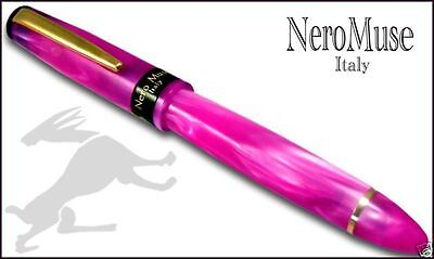 Stylo Pen Shocking PINK Great Fountain pen Waterman Cartridges Truly italian
