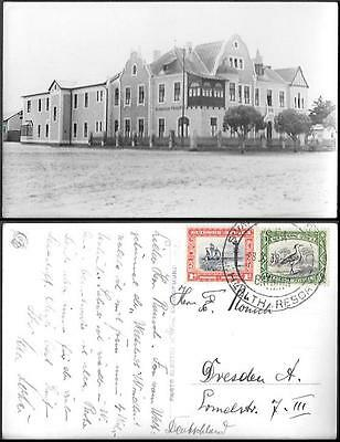 South West Africa Swakopmund Antonius Hospital old photo PC 1938. Health Resort