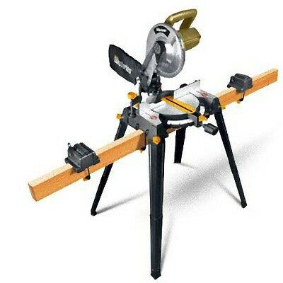Rockwell RK7136.1 Shop Series Miter Saw with Leg Stands Die Cast Aluminum Base