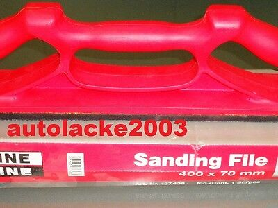 SANDING FILE GRIP CARSYSTEM  14-loch 137.438 70x420mm