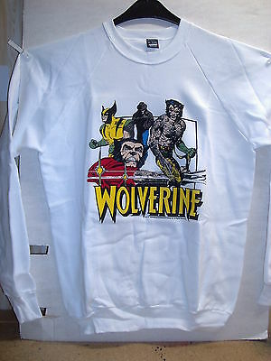 Vintage Sweat-Shirt: Wolverine (L) (USA, 1989)
