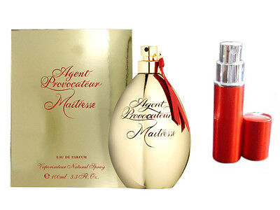 Agent Provocateur Maitresse 5Ml Edp Perfume In Red Travel Air Safe Atomiser 53