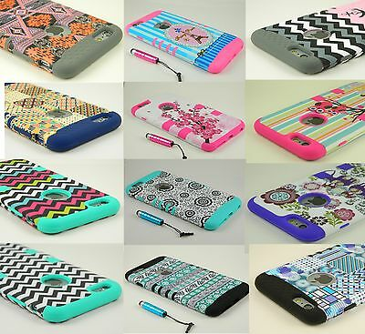 """Hybrid Rubber Shockproof Hard Case Cover Skin for iPhone 6 6S 4.7"""" / 5.5"""" Plus+"""
