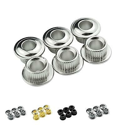 6 Conversion Adaptor Bushings for Vintage Kluson Style Tuners Machine Heads