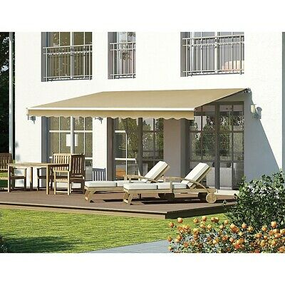 New 5.0x2.5m Automatic Outdoor Folding Arm Awning