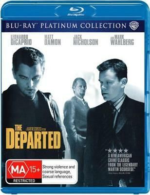 The Departed (Leonardo DiCaprio) Blu-ray Region B New!