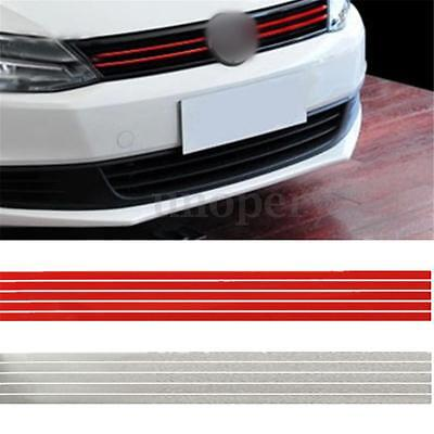 Red Grill Grille Decal Sticker For VW Volkswagen Golf 2 3 4 5 6 7 V VI GTI Jetta