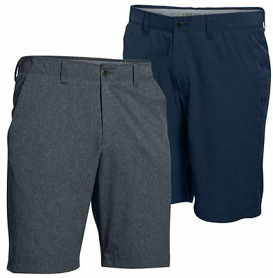 Under Armour 2017 UA Match Play Ventilé Flat Front Hommers Funky Golf Shorts
