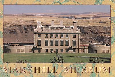MARYHILL MUSEUM, COLUMBIA RIVER GORGE, WA Postcard - photo by Jeff Krausse!