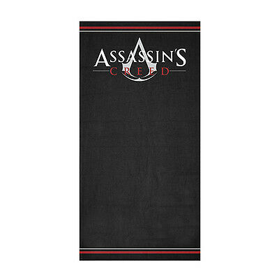 ASSASSINS CREED UNITY Logo Jumbo Beach Gym Bath Towel Man Cave Christmas Gift