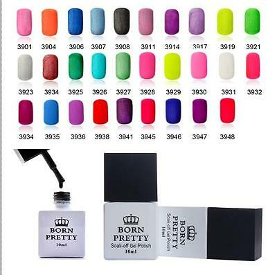 10ml Born Pretty  Nail Art Matte Dull Frosted Soak Off UV Gel Top Coat Polish