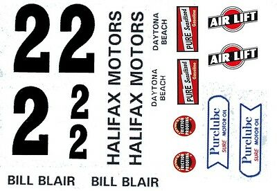 1//25th  Scale Waterslide Decals #2 Rusty Wallace ALUGARD 1984//85  1//24th
