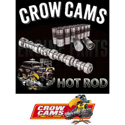 FORD 302 351 CLEVELAND V8 CROW CAMS TOUGH IDLE HOT ROD CAMSHAFT & lLIFTERS