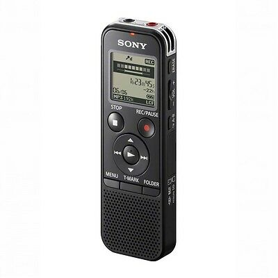 Sony ICD-PX333 4GB Memory High Quality 192kbps Digital Recorder Clip on Mic New