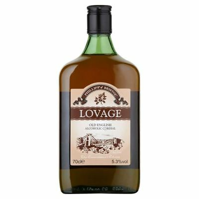 Old English Lovage Alcoholic Cordial 70cl (Single Bottle)