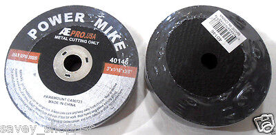 "20 Pc.  3"" Inch X 1/16"" Inch Thick X 3/8"" Arbor Cut Off Wheels For Metal"