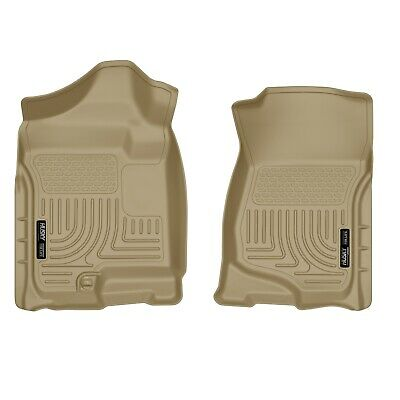 Husky Liners 18203 Tan WeatherBeater Front Floor Liners for Silverado/Sierra