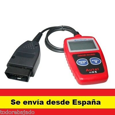 Escaner diagnosis OBD2 / OBDII