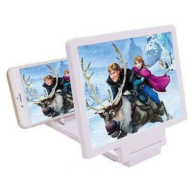 Movie Mobile Screen Magnifier Stand Portable Folding iPhone Samsung HTC Nokia