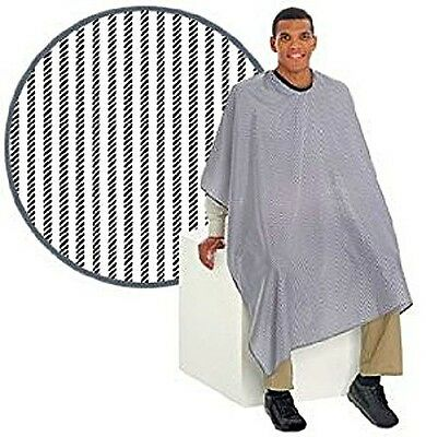 Diane Barber Cape Striped, Black and White 50 X 50 SE125 Water Resistant New