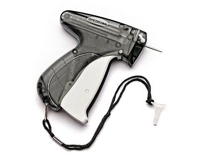 "Garment Price Label Tag Tagging Gun with 1000 3"" black color  Barbs plus1 Needle"