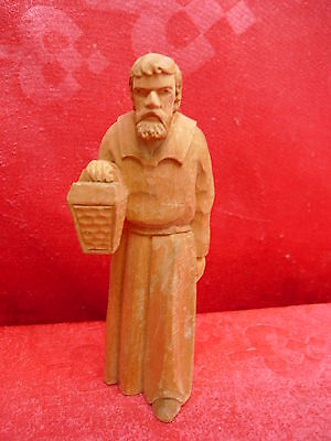 beautiful,antique nativity__wood carved __15cm__