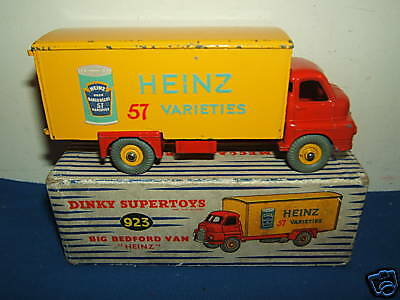 DINKY TOYS MODEL No.923  'HEINZ'  BIG BEDFORD VAN      VN MIB
