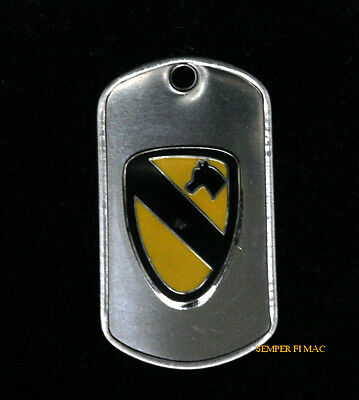 1St Cavalry Division Dog Tag Us Army Necklace 1St Cav Veteran Pin Up Gift Wow