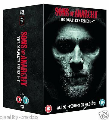 ❏ Sons of Anarchy - Seasons 1 - 7 DVD Complete Series ❏ 1 2 3 4 5 6 7